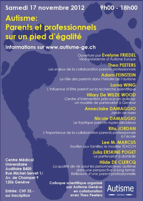 Affiche Colloque 2012